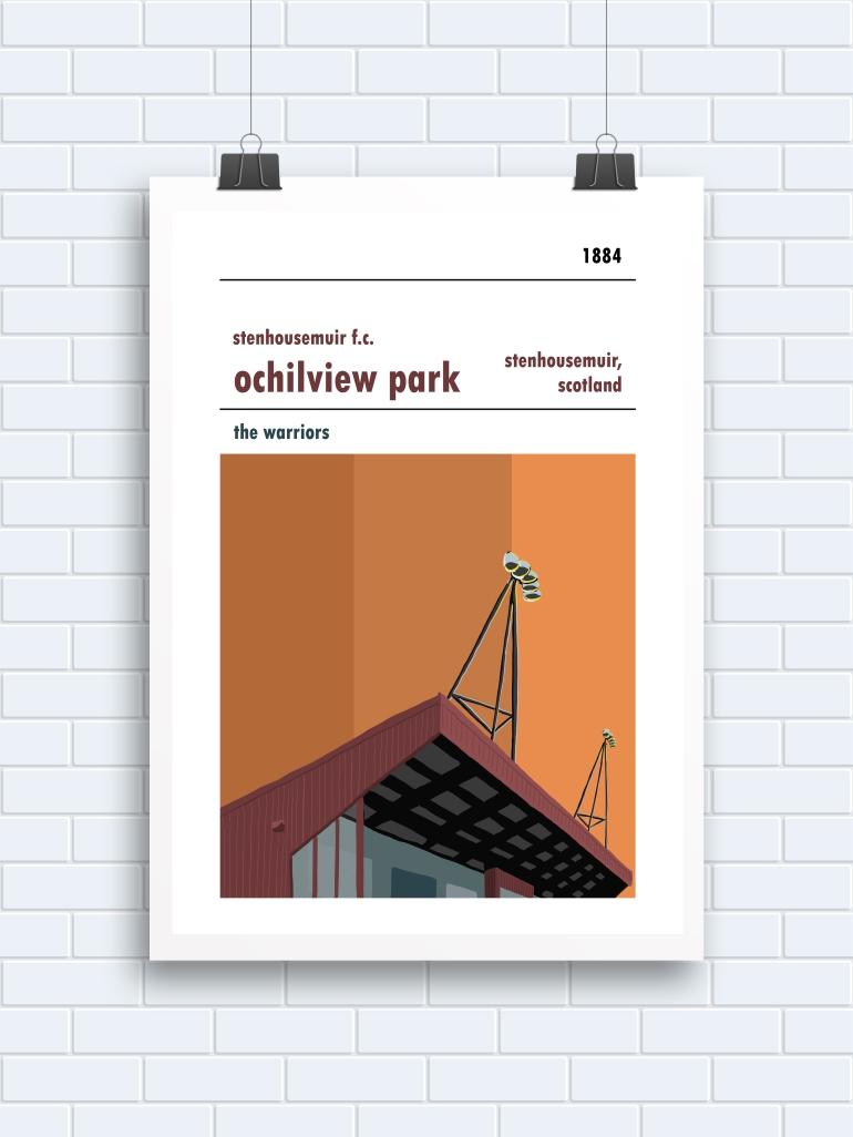 Stenhousemuir manual poster