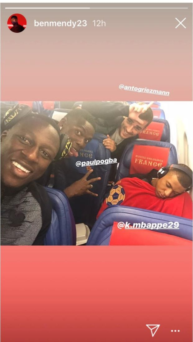 Mbappe Sleeping