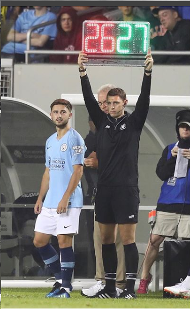 Patrick Roberts 2018 Man City