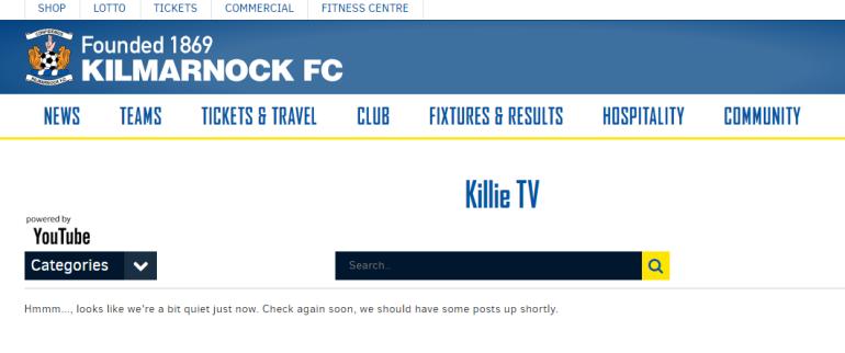 Kilmarnock TV