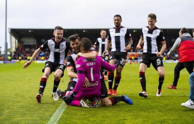 St Mirren victory